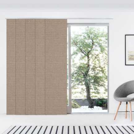 Panneaux coulissants de luxe en toile solaire 10% 4550