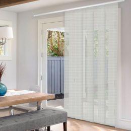 Panneaux coulissants de luxe en toile solaire 10%