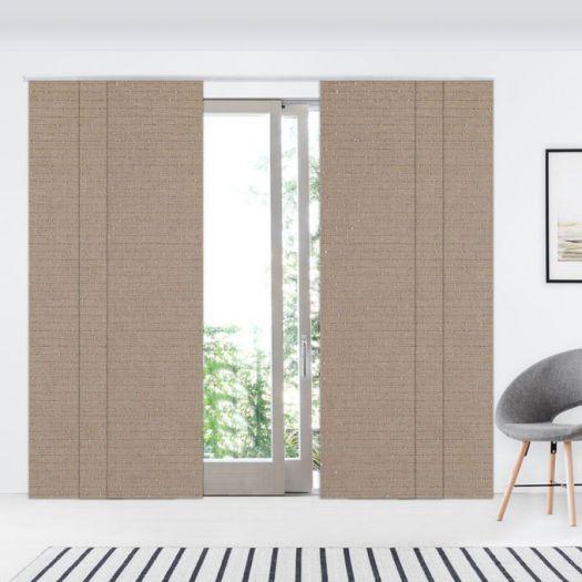 Panneaux coulissants de luxe en toile solaire 3% 7351 Thumbnail