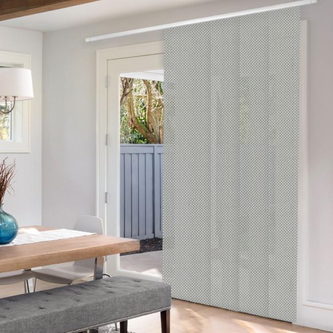 Panneaux coulissants de luxe en toile solaire 3%