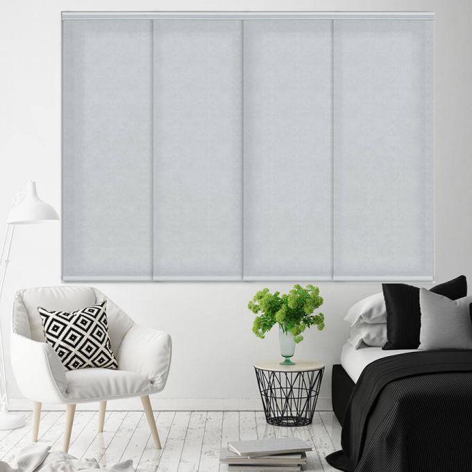 Panneaux coulissants en filtre de lumière en tissu de luxe 4578