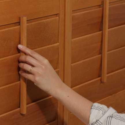 Persiennes en bois Décorateur 4617