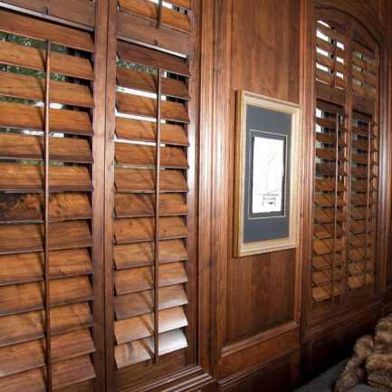 Persiennes en bois Décorateur 4619