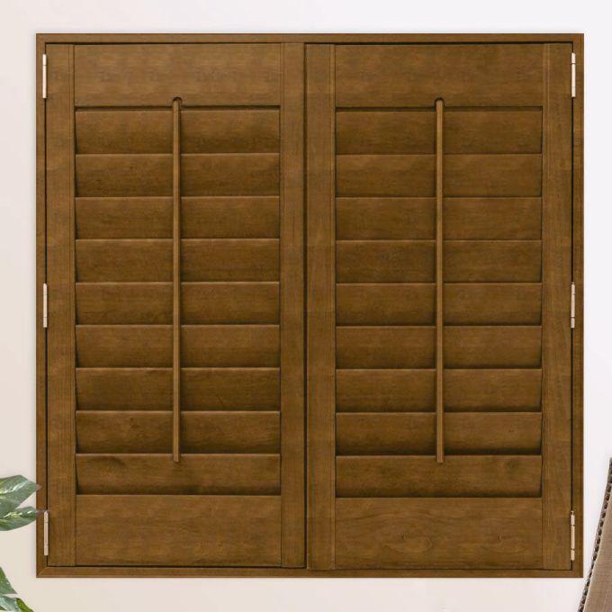 Persiennes en bois décorateur