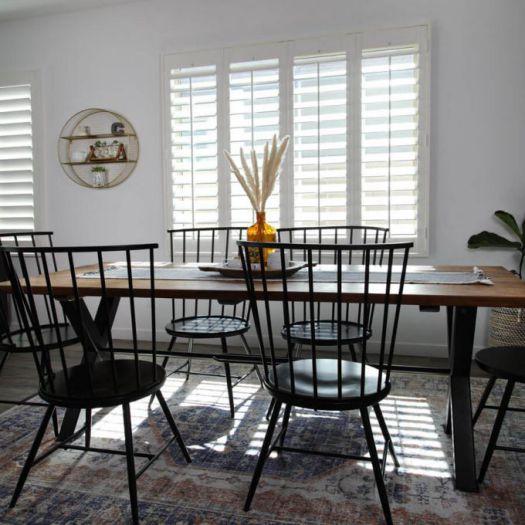 Persiennes en bois décorateur 8119