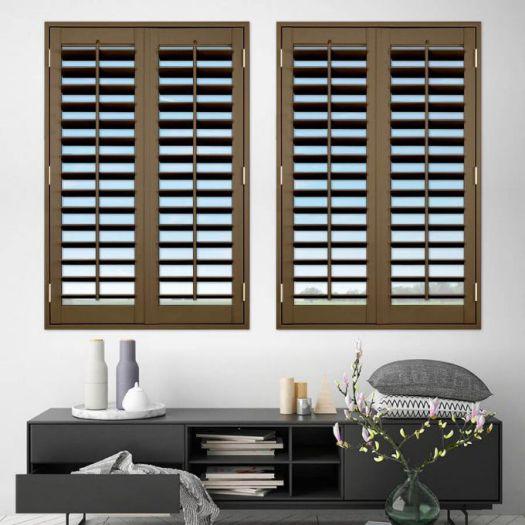 Persiennes en bois décorateur 8111