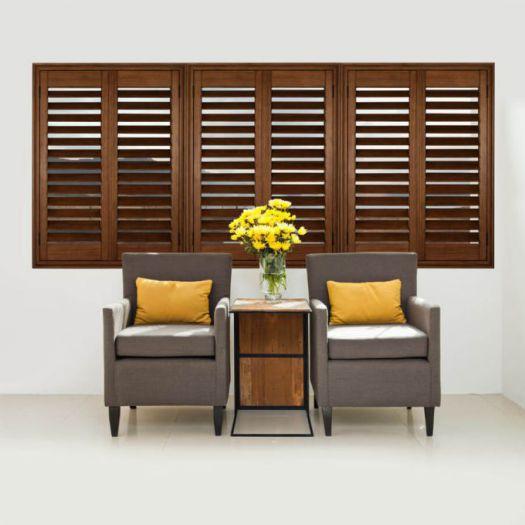 Persiennes en bois décorateur 8115