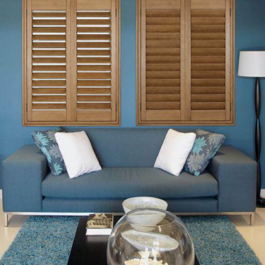 Persiennes en bois décorateur 8116
