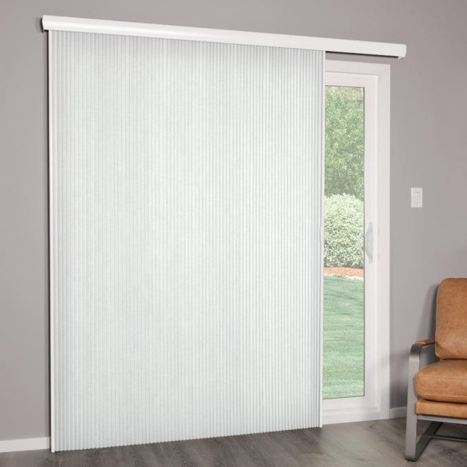 "Premier 3/4"" Light Filtering Vertical Cellular Blinds"