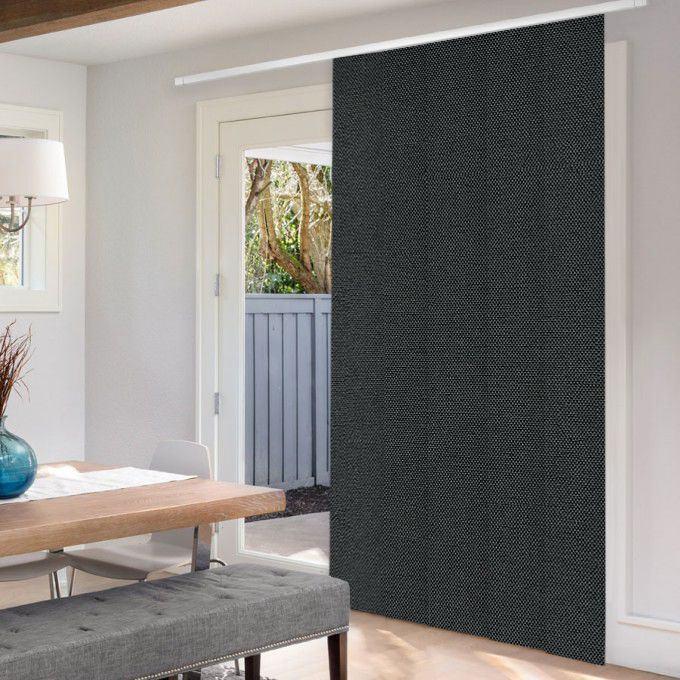 Premium Blackout Fabric Panel Track Blinds 8333