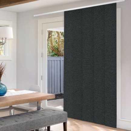 Premium Blackout Fabric Panel Track Blinds 8333 Thumbnail