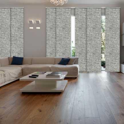 Premium Blackout Fabric Panel Track Blinds 8334 Thumbnail