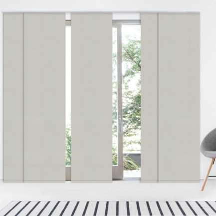 Premium Blackout Fabric Panel Track Blinds 8335 Thumbnail