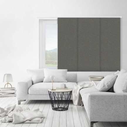 Premium Blackout Fabric Panel Track Blinds 8336 Thumbnail