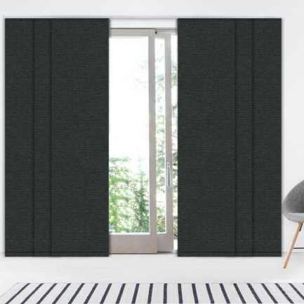 Premium Blackout Fabric Panel Track Blinds 8338 Thumbnail