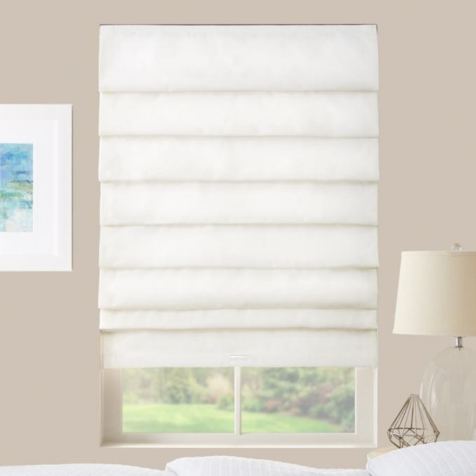 Premium Light Filtering Roman Shades