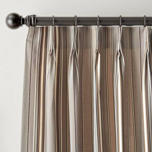 Rideaux plissés « décorateur » sur mesure 5325