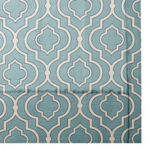 Rideaux plissés « décorateur » sur mesure 5330