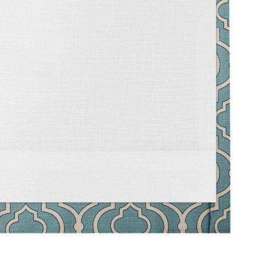 Rideaux plissés « décorateur » sur mesure 5332