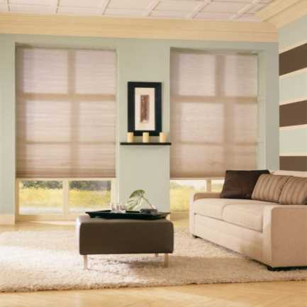 Select Double Cell Light Filtering Honeycomb Shades 7853