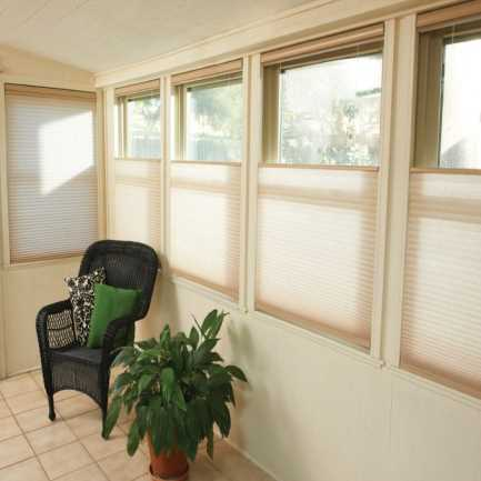 Select Double Cell Light Filtering Honeycomb Shades 7855
