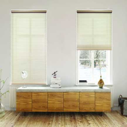 Select Double Cell Light Filtering Honeycomb Shades 7857