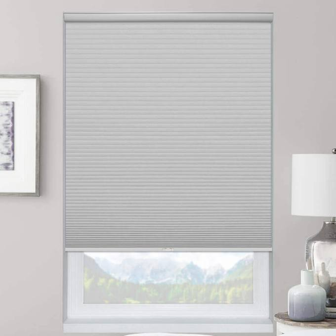 Select Double Cell Light Filtering Honeycomb Shades