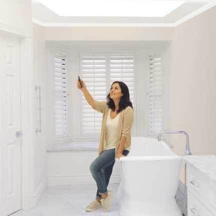 Select Light Filtering Skylight Shades 7406 Thumbnail