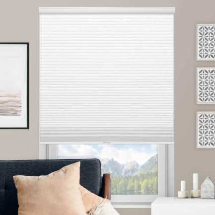 Select Single Cell Light Filtering Honeycomb Shades 7836