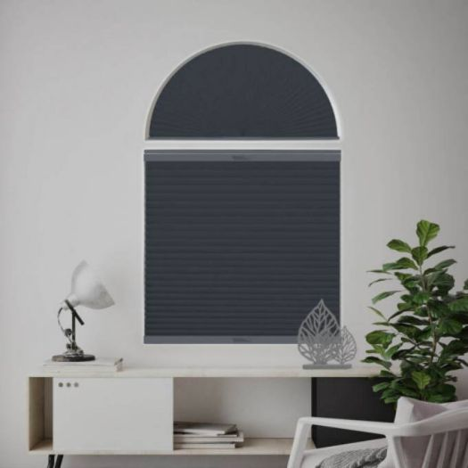 Single Cell Blackout Arch Window Shades 7312