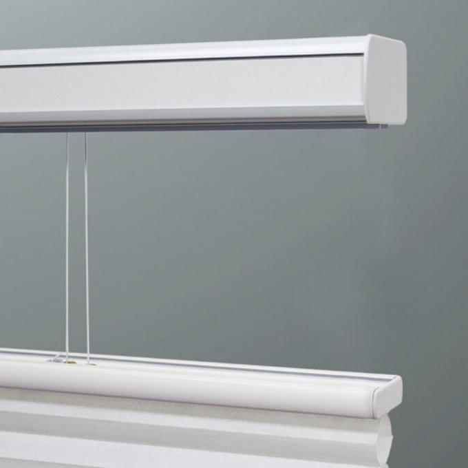 Stores cellulaires filtres de lumière à cellule double signature décorateur (Carriann) de 3/8 po 4667