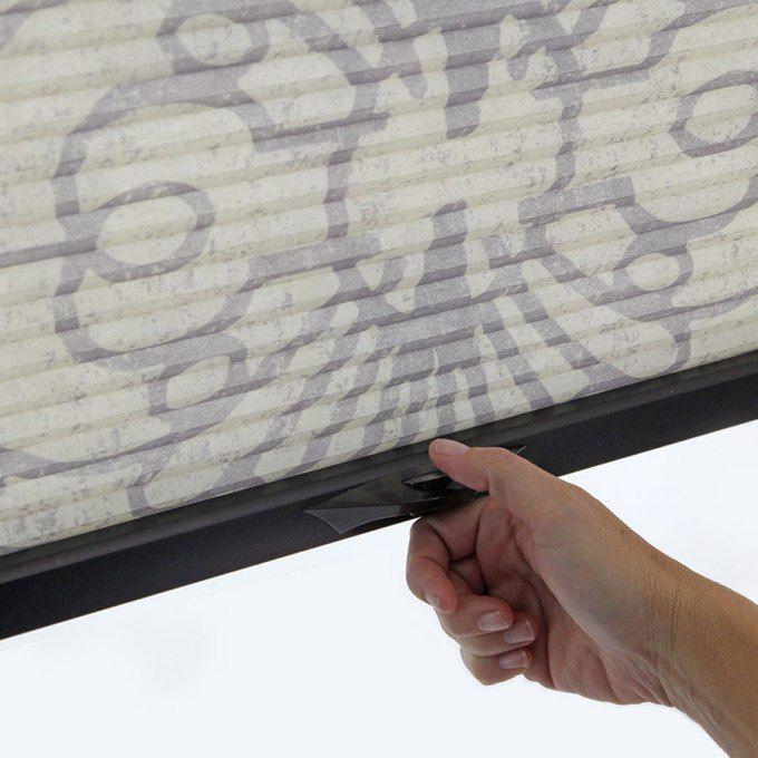 Stores cellulaires filtres de lumière à cellule double signature décorateur (Carriann) de 3/8 po 4666