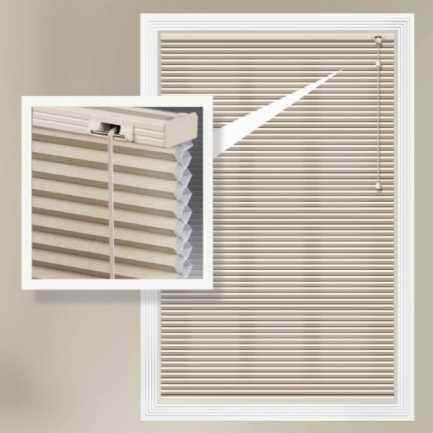 Stores cellulaires filtres de lumière à cellule simple de luxe de 3/8 po 4336