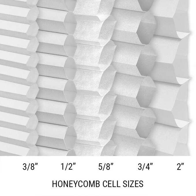 Stores cellulaires filtres de lumière sans cordon luxe Décorateur 8673