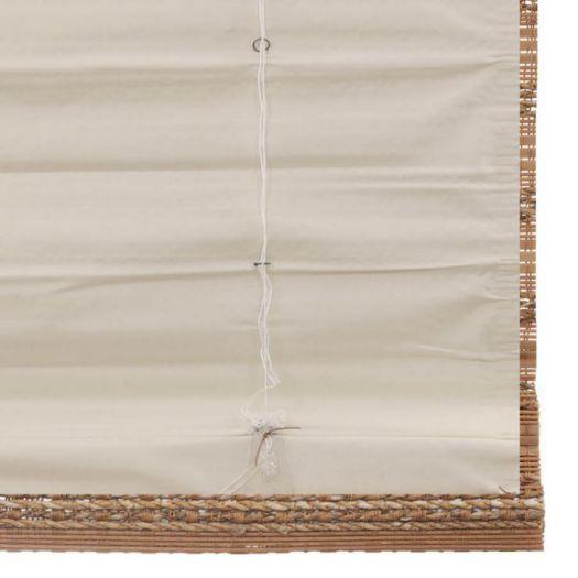 Stores en bambou/bois tissé de luxe plus 7244