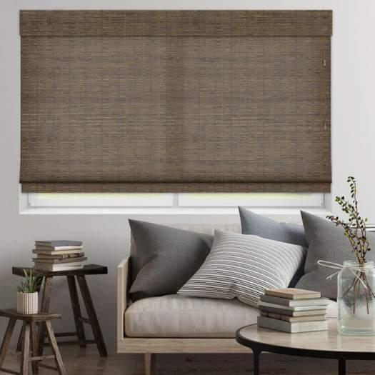 Stores en bambou/bois tissé de luxe plus 5346