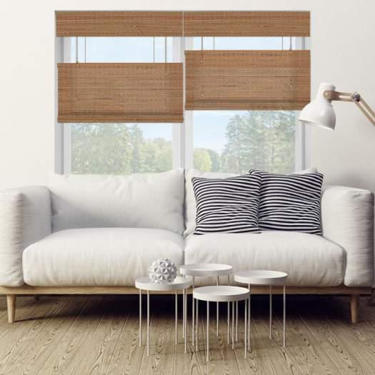 Stores en bambou/bois tissé de luxe plus 5347