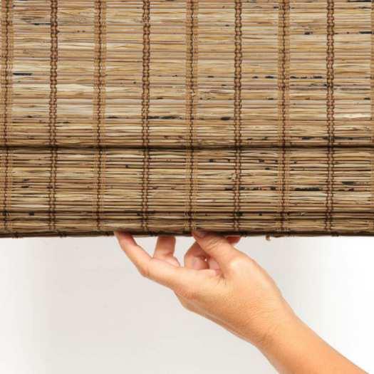 Stores en bambou/bois tissé de luxe plus 5348