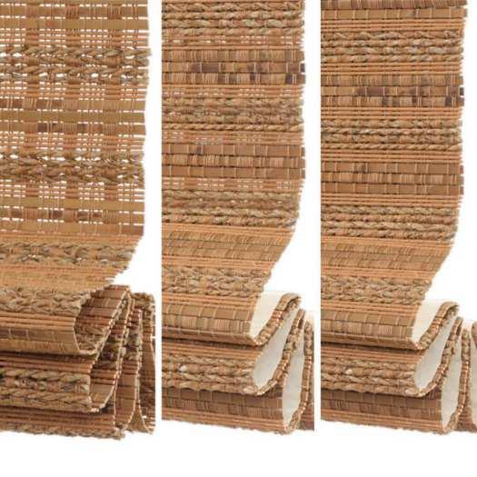Stores en bambou/bois tissé de luxe plus 5349
