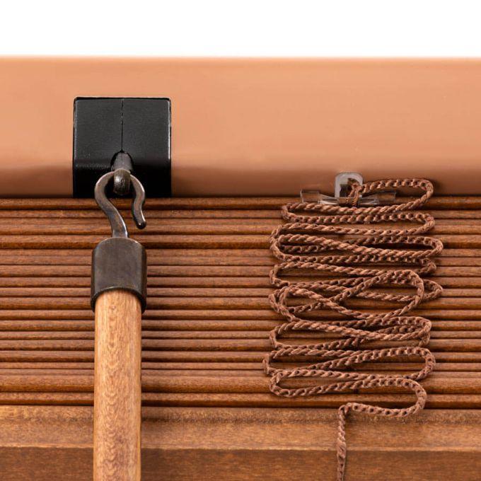 Stores en bois décorateur de 2 po 8719