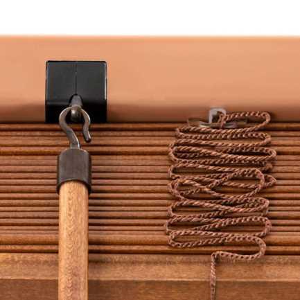 Stores en bois décorateur de 2 po 8719 Thumbnail