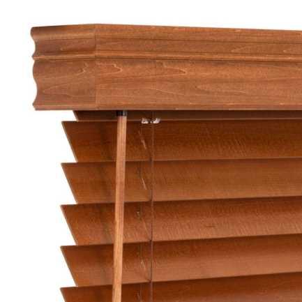 Stores en bois décorateur de 2 po 8721 Thumbnail