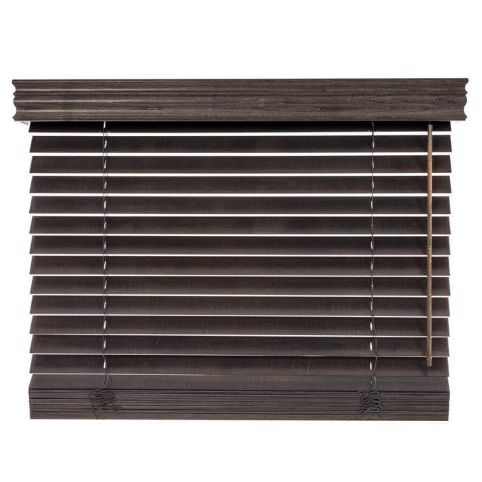Stores en bois décorateur de 2 po 4737
