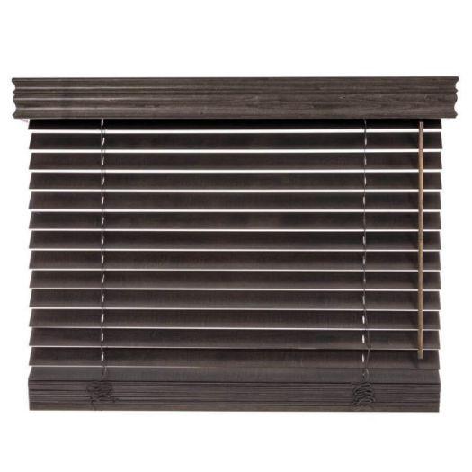 Stores en bois décorateur de 2 po 4737 Thumbnail