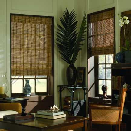 Stores bambou/bois tissé Avantage 6049