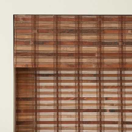Stores en bois tissé/bambou Décorateur 5762