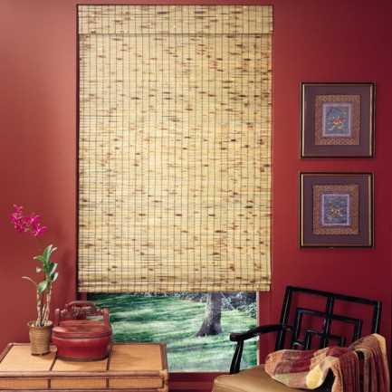 Stores en bois tissé/bambou Décorateur 5764