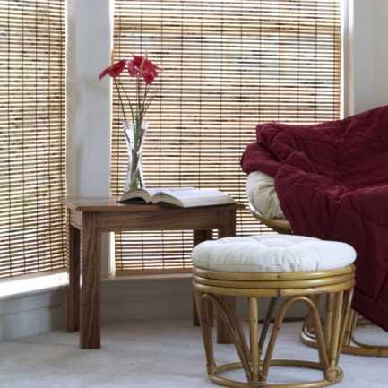Stores en bois tissé/bambou Décorateur 5767