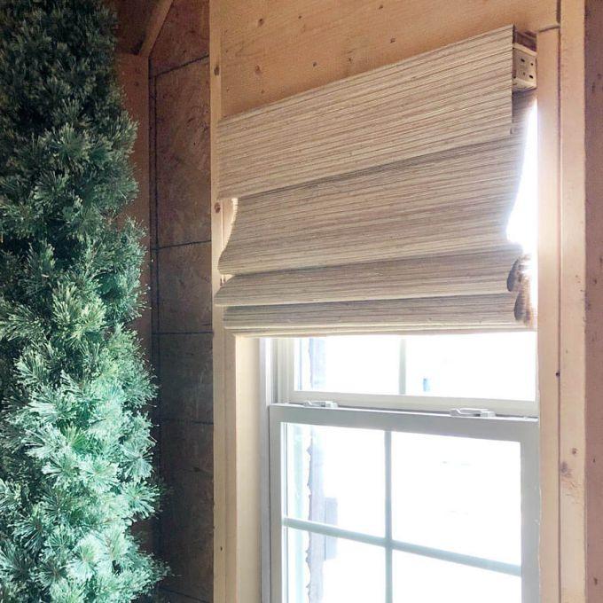 Stores en bois tissé/bambou décorateur 8600