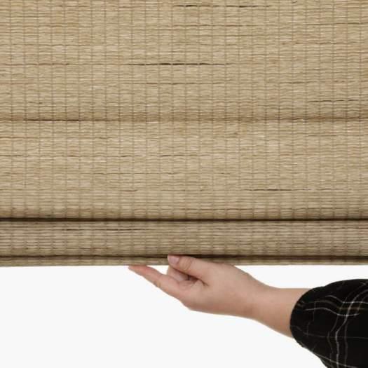 Stores en bois tissé/bambou décorateur 7093 Thumbnail
